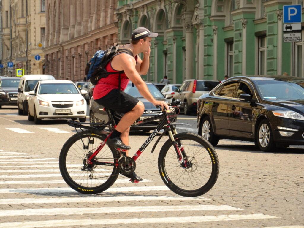 уважение к велосипедистам