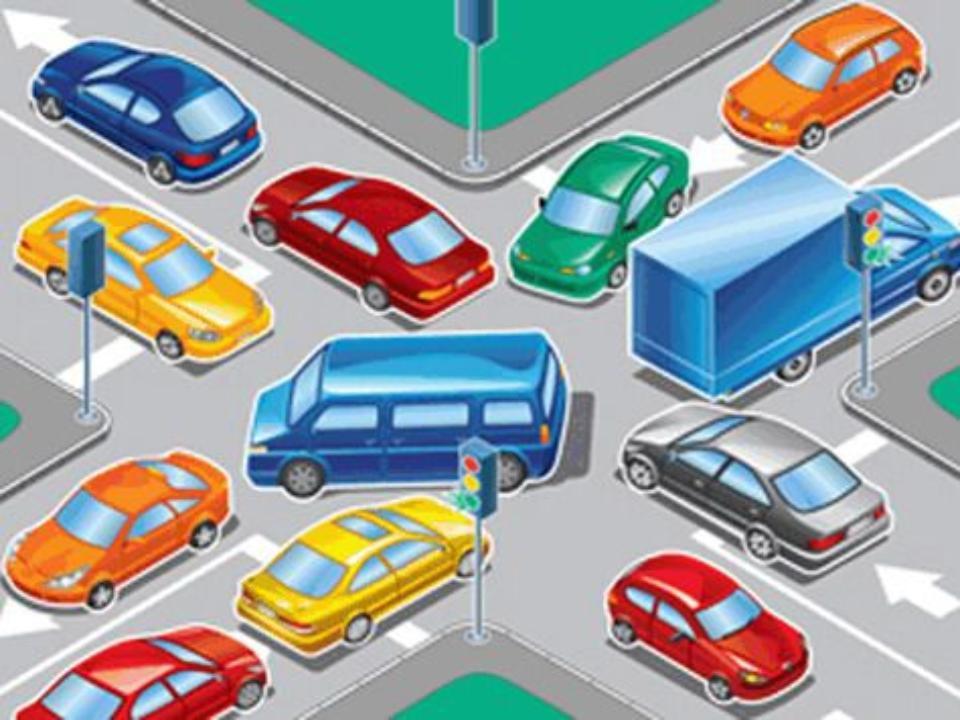 Не выезжайте на перекресток, заполненный машинами, – Вы перекроете движение остальному транспорту.